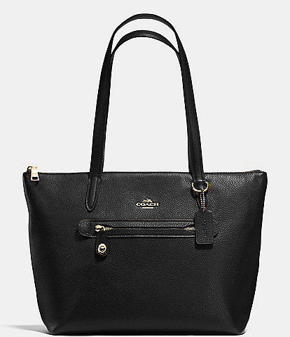 COACH Taylor Tote Bag in Pebble Leather