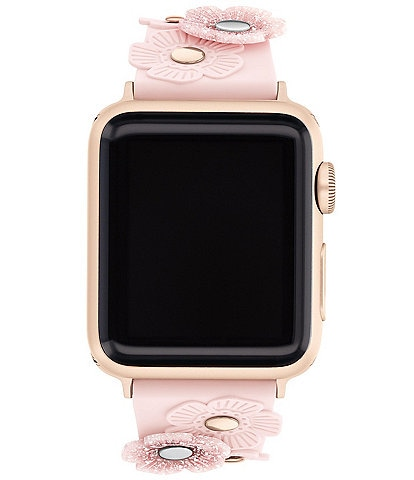 COACH Tea Rose 38/40mm Band for Apple Watch®