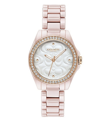 COACH The Astor Blush Ceramic Watch