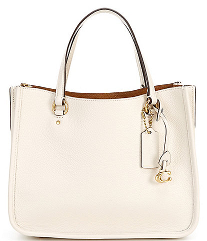 COACH Tyler Carryall Pebbled Leather Tote Bag