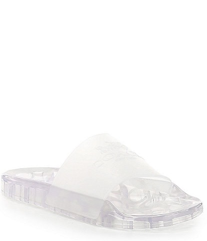 COACH Ulyssa Water-Resistant Jelly Pool Slides