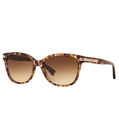 COACH Cat Eye Gradient Lens Sunglasses