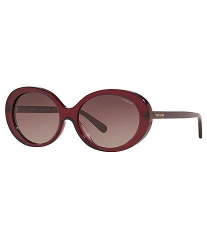 COACH Women's Hc8270u Oval 55mm Sunglasses