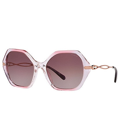 COACH Women's Hc8315 57mm Sunglasses