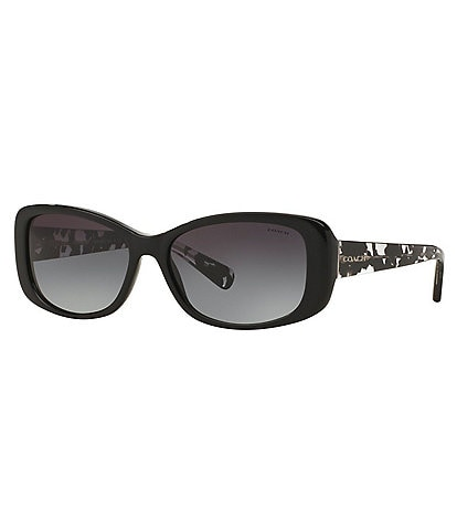 COACH Women's Rectangular Sunglasses