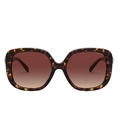 COACH Women's Square 56mm Sunglasses