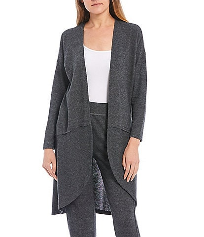 Coco + Jaimeson Coordinating Long-Sleeve Open-Front Lounge Cardigan