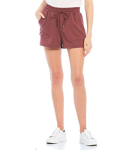 Coco + Jaimeson Smocked Waist French Terry Shorts