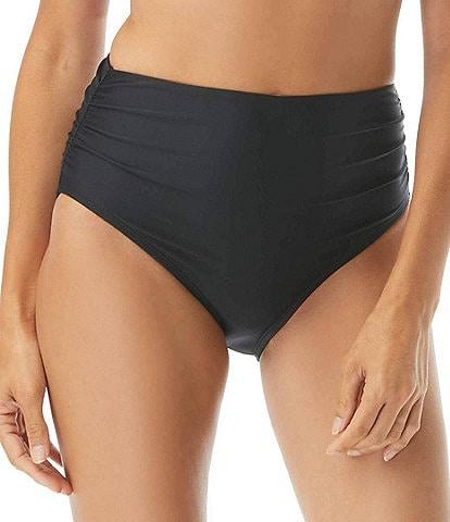 Coco Reef Classic Solids High Waist Rollover Bikini Swimsuit Bottom