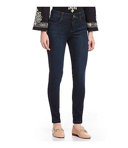 Code Bleu #double;F'AB#double; Body Sculpt Skinny Jeans