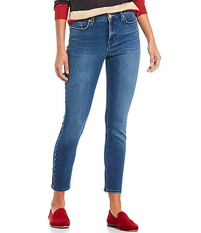 Code Bleu High Rise Skinny Ankle Jeans