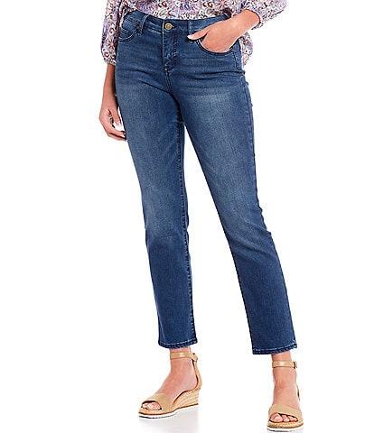 Code Bleu Petite Chelsea Slimming Short Straight Leg Jeans