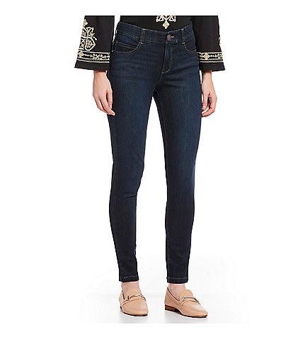 Code Bleu Petite Size #double;FA'B#double; Body Sculpt Skinny Jeans