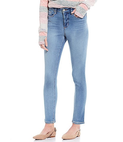 Code Bleu Petite Size High Rise Skinny Ankle Jeans