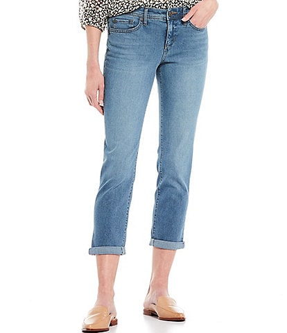 Code Bleu Petite Size Rolled Cuff Weekend Jeans