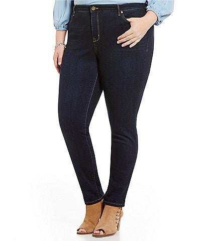 Code Bleu Plus Soho Skinny Jeans