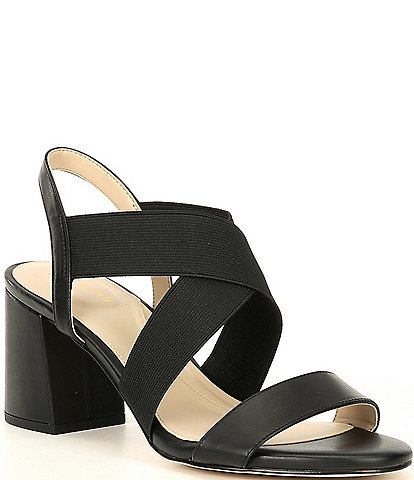 Cole Haan Aniston Elastic Leather Dress Sandals