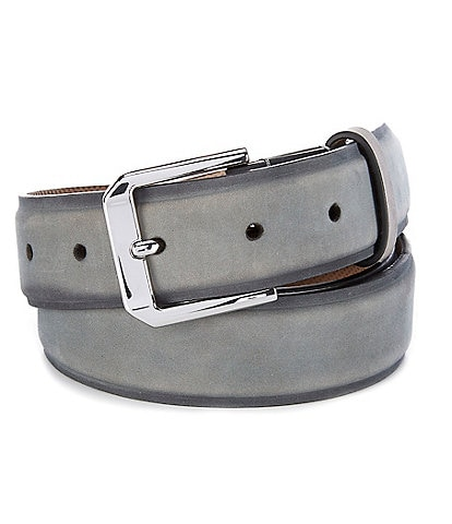 Cole Haan Burnished Nubuck Leather Belt