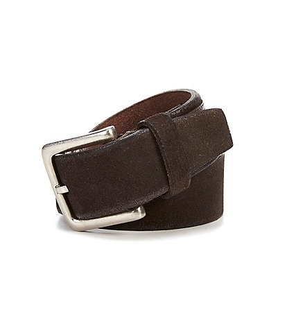 Cole Haan Burnished Suede Belt