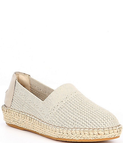 Cole Haan Cloudfeel Stitchlite Knit Slip On Espadrilles