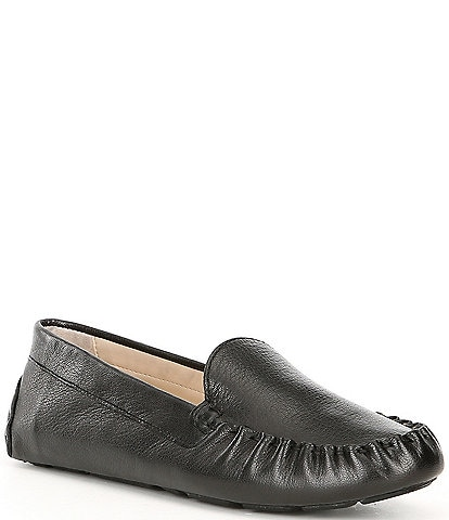 Cole Haan Evelyn Leather Driver Loafers