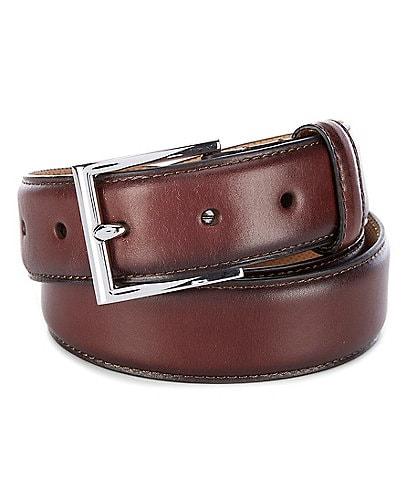 Cole Haan Gramercy Leather Belt