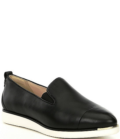 Cole Haan Grand Ambition Leather Slip Ons