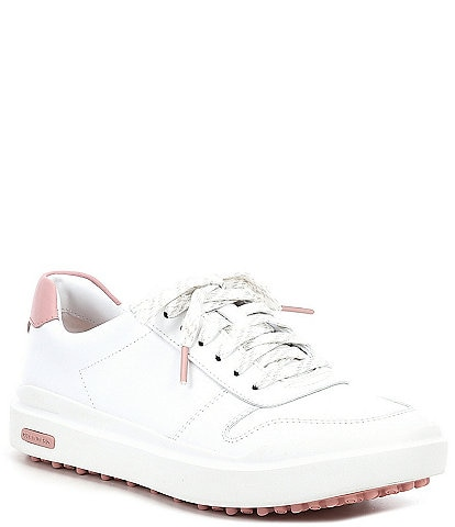 Cole Haan GrandPrø AM Leather Golf Sneakers