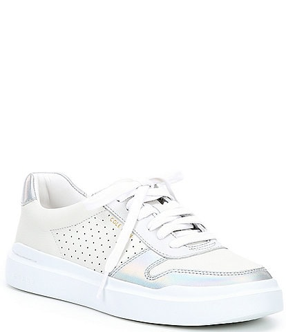 Cole Haan GrandPro Perforated Leather Rally Court Sneakers