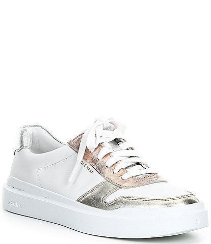 Cole Haan GrandPro Rally Court Leather Lace-Up Sneakers