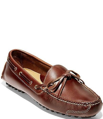 Cole Haan Gunnison Waxy Leather Drivers
