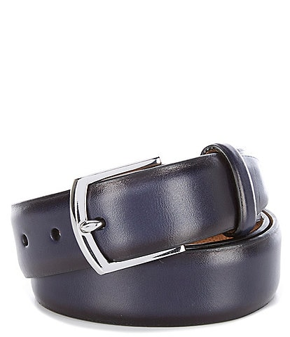 Cole Haan Lewis Burnished Leather Belt