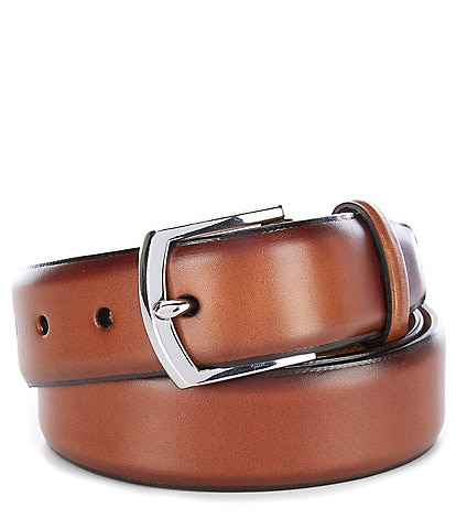 Cole Haan Lewis Burnished Leather Belt