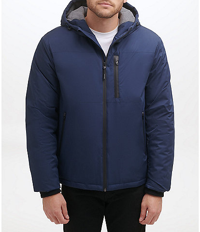 Cole Haan Long-Sleeve Hooded Windbreaker Jacket