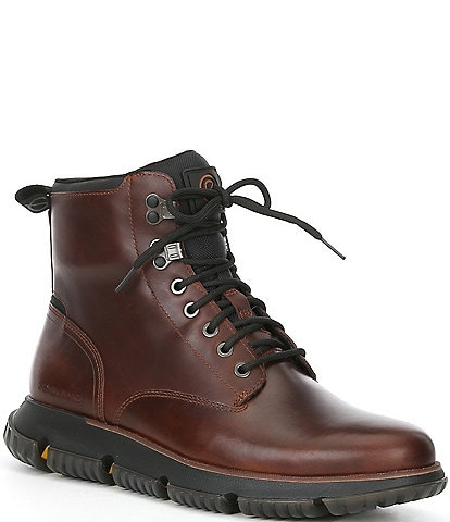 Cole Haan Men's 4.ZERØGRAND Waterproof Lace-Up City Boots