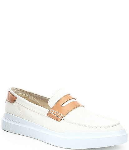 Cole Haan Men's GrandPrø Rally Canvas Penny Loafers