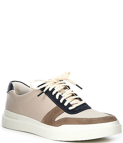 Cole Haan Men's GrandPrø Rally Court Leather Lace-Up Sneakers