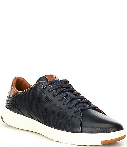 Cole Haan Men's Grandpro Leather Tennis Sneaker