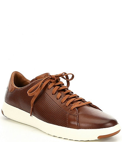 Cole Haan Men s Grandpro Leather Tennis Sneaker 95217534b0a
