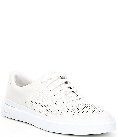 Cole Haan Men's GrandPro Rally Laser Cut Leather Sneakers