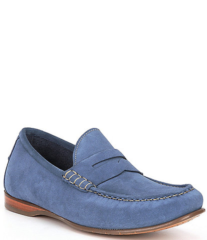 Cole Haan Men's Hayes Suede Penny Loafers