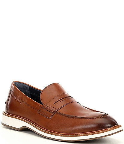 Cole Haan Men's Morris Leather Penny Loafers