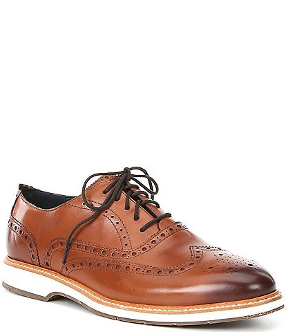 Cole Haan Men's Morris Leather Wingtip Oxfords