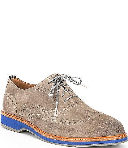 Cole Haan Men's Morris Suede Wingtip Shoes