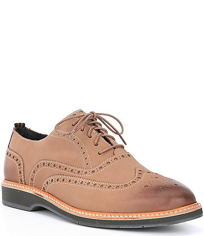 Cole Haan Men's Morris Wingtip Suede Oxfords