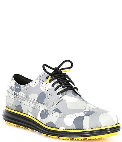 Cole Haan Men's ØriginalGrand Golf Water Resistant Camo Print Lace-Up Shoes
