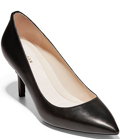 Cole Haan The Go-To Waterproof Leather Pumps