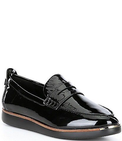 Cole Haan Tolly Patent Leather Penny Loafers