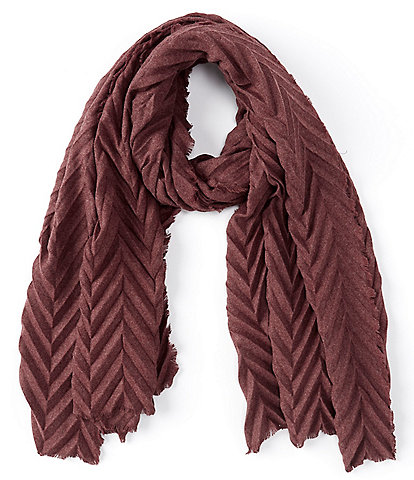 Collection 18 Chevron Pleat Scarf