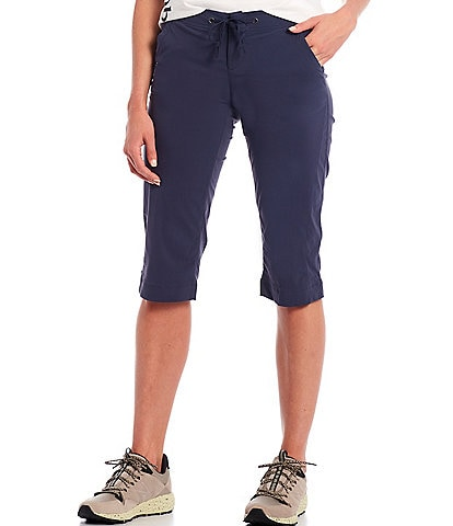 Columbia Anytime Outdoor™ Straight Leg Cropped Capri Drawstring Pants